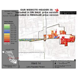 M81-Ward 14, Latino Population Percentages, by Census Blocks, Census 2010