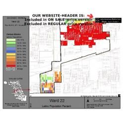 M81-Ward 22, Latino Population Percentages, by Census Blocks, Census 2010