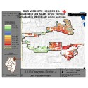 M72-IL US Congress District 4, Latino Population Percentages, by Census Blocks, Census 2010