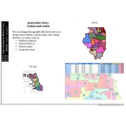 M601_Redistricting, Illinois, Census 2010